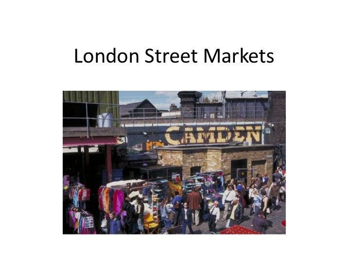 London street markets