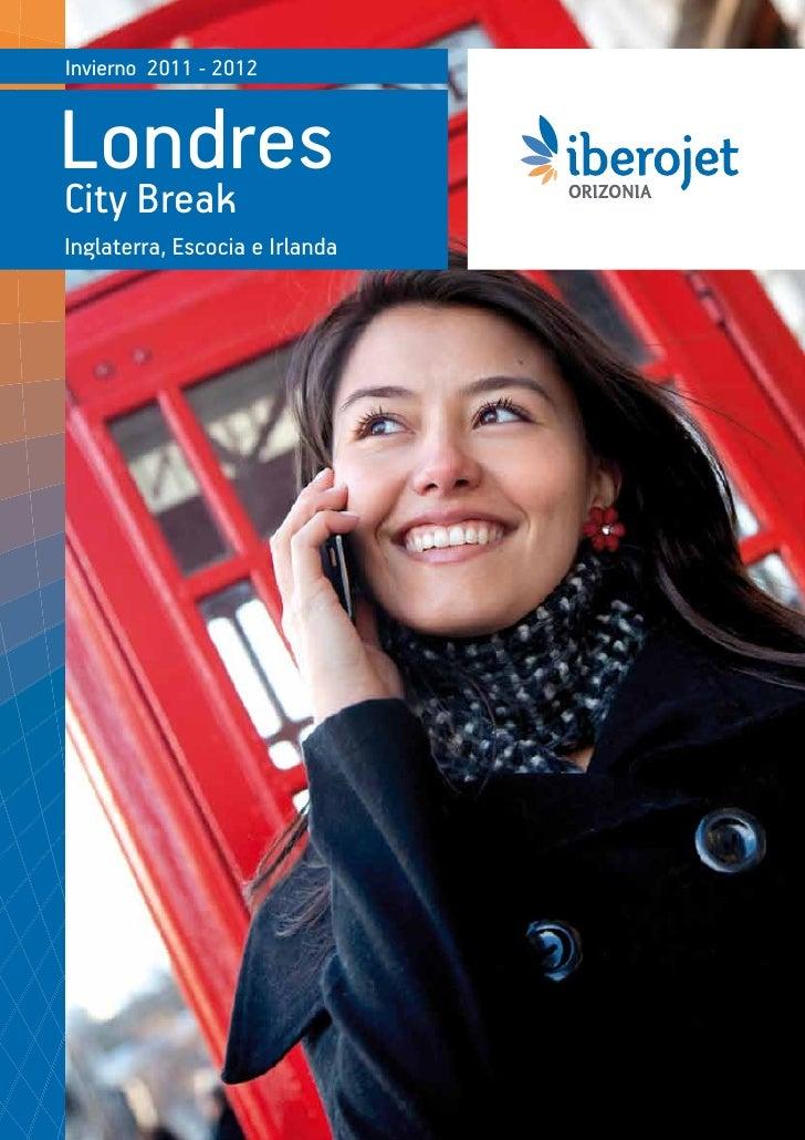 Catálogo Iberojet Londres Citybreaks