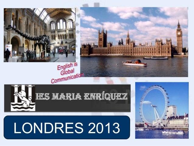 LONDRES 2013