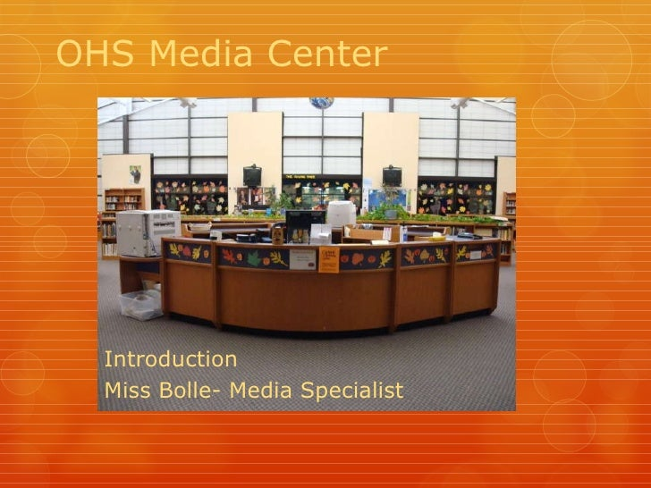 How to use the Media Center