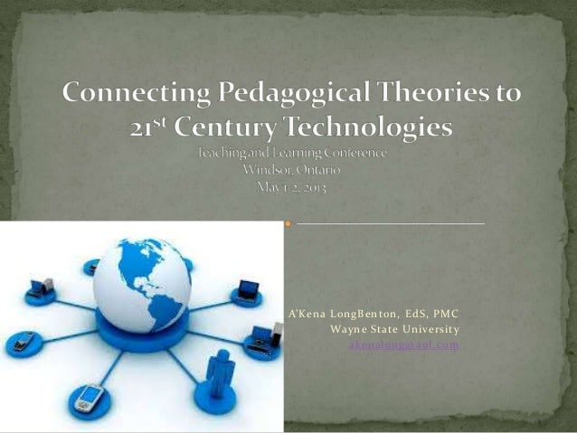 A'Kena LongBenton's Connecting Pedagogical Theories to 21st Century Technologies
