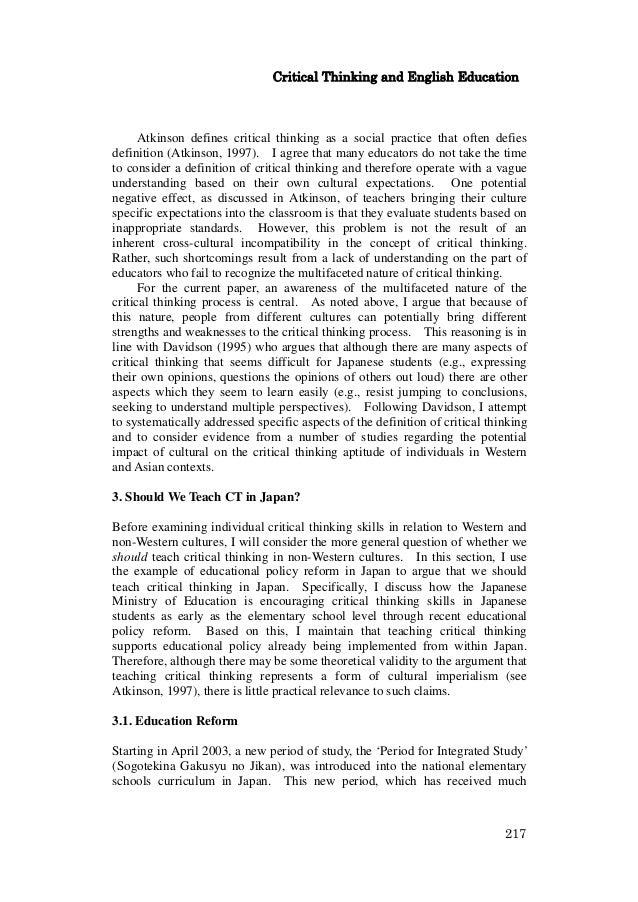 Watson glaser critical thinking appraisal   form b   Essay     Busy market essay   FC  Criterion Partnership