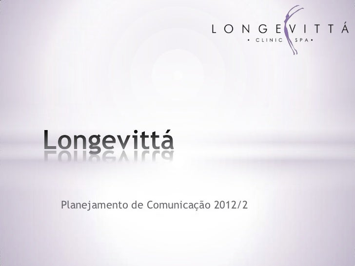 Planejamento de Comunicação 2012/2
