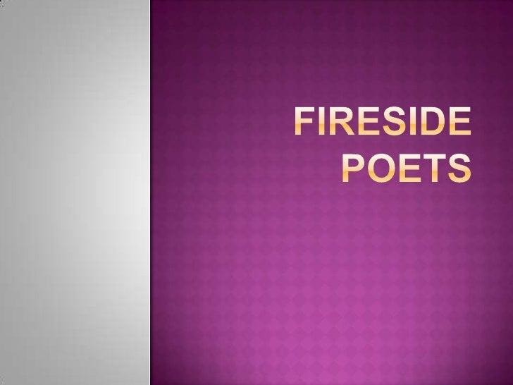  Henry    Wadsworth Longfellow     Harvard professor, very popular poet John    Greenleaf Whittier     Quaker farm fam...