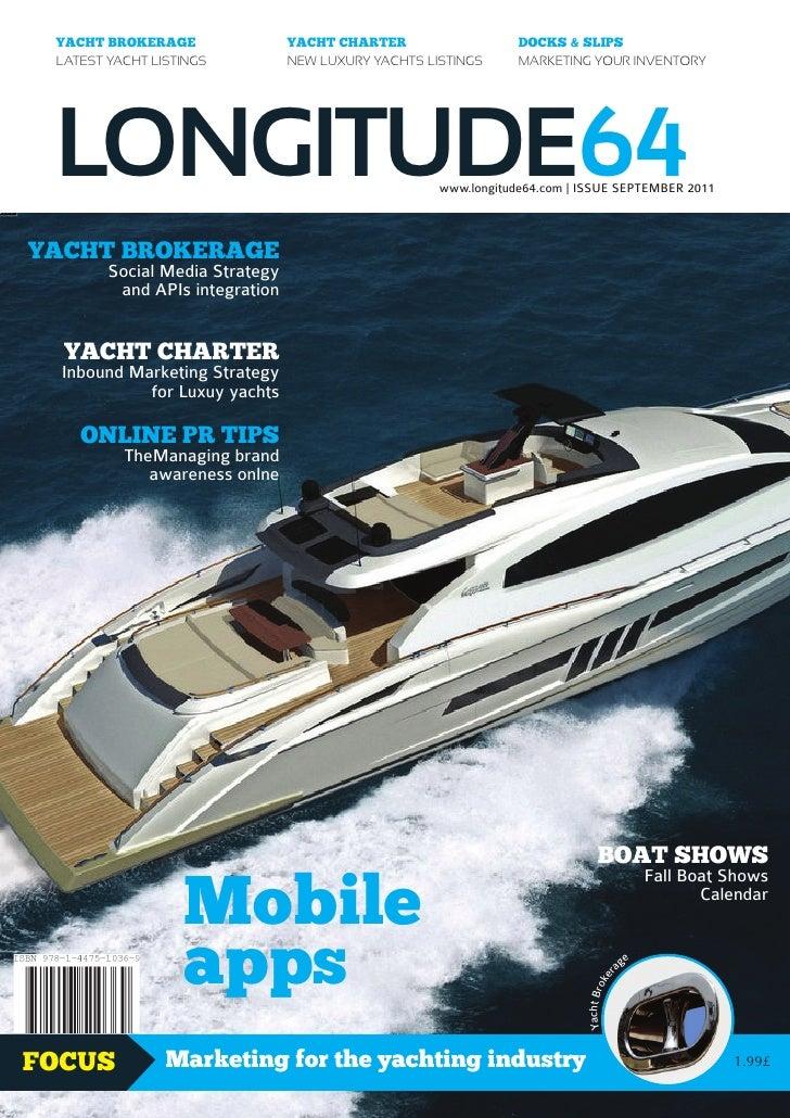 Longitude 64 magazine - September 2011 issue