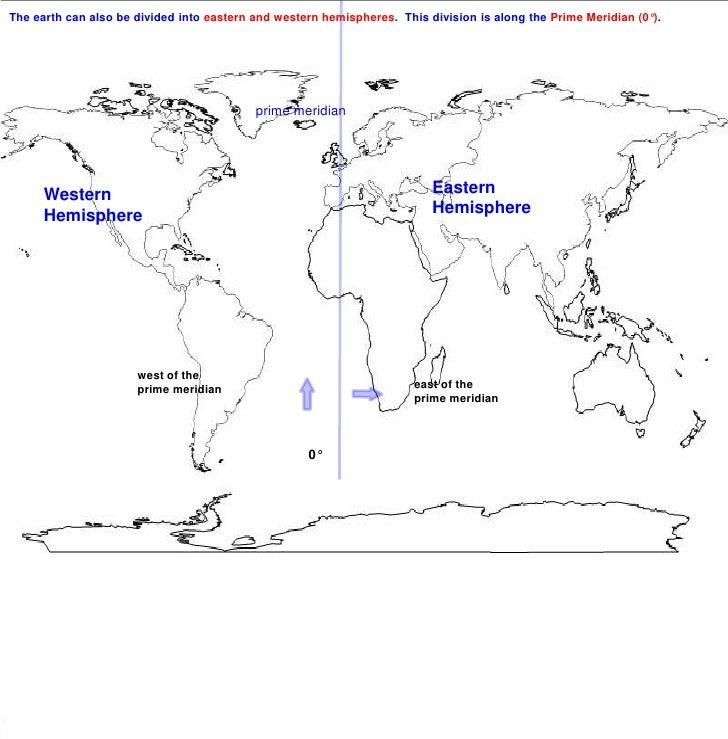 Eastern Hemisphere Globe Eastern Hemisphere Western
