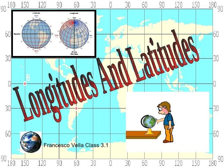 Longitudes and latidudes by Francesco Vella 3.01