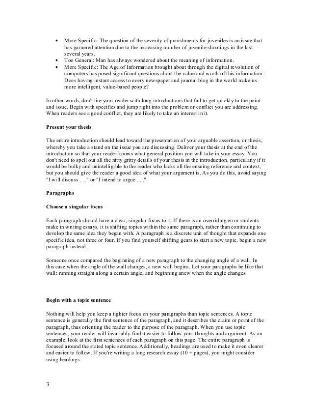 technology society essay