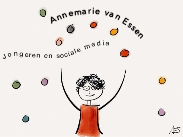 ncosm VO 16 mei 2013 annemarie van essen jongeren en sociale media