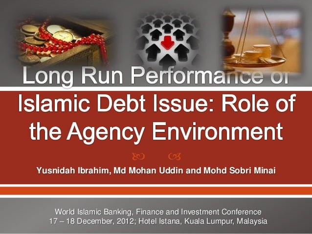 Long run performance of islamic debt issue