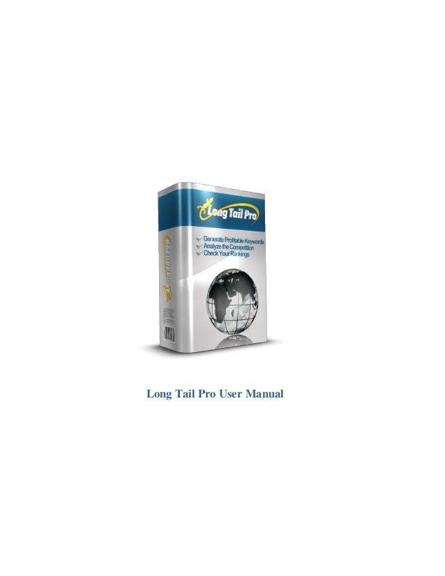 Long tail pro user manual