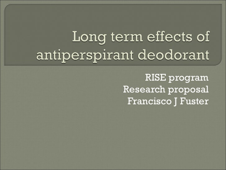 RISE program Research proposal Francisco J Fuster