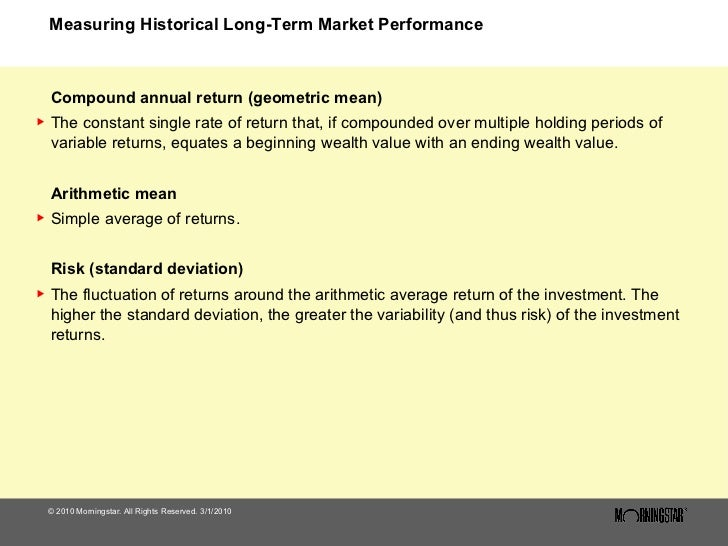 Long Term Investment Performance