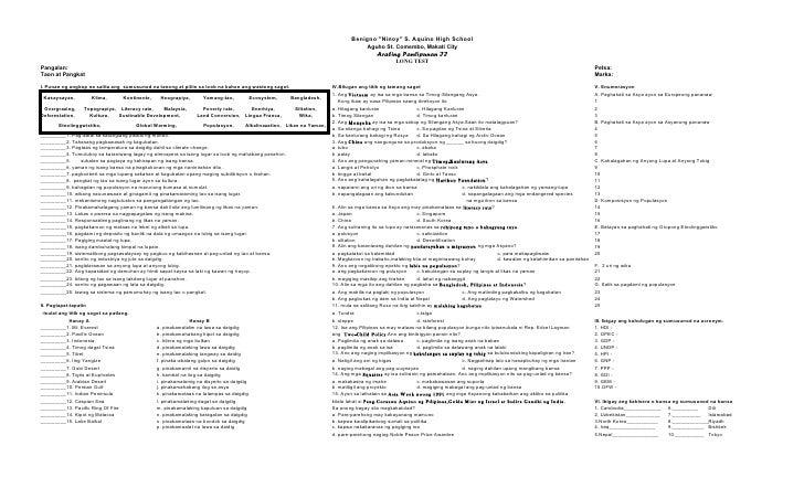 araling panlipunan grade 8 learning guide deped k 12 araling