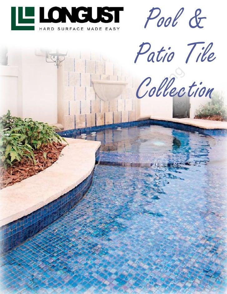 Longust Pool Tile Catalog 2010