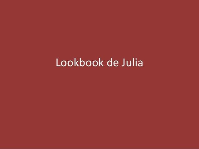 Lookbook de Julia