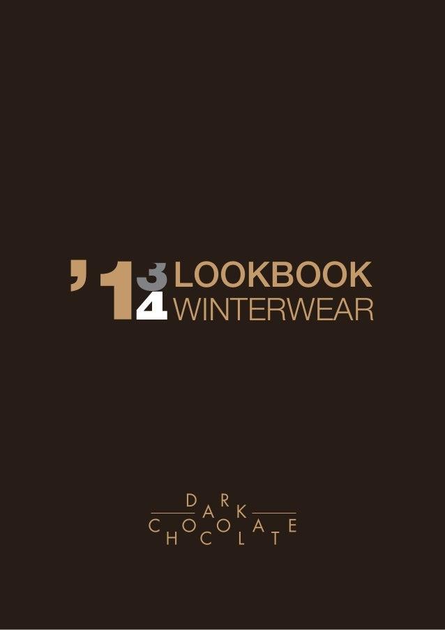 Dark Chocolate Clothing Lookbook 2013-14 Winter
