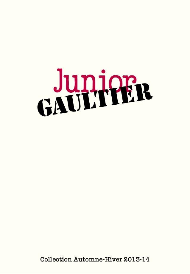 JUNIOR GAULTIER FALL/WINTER 2013-2014