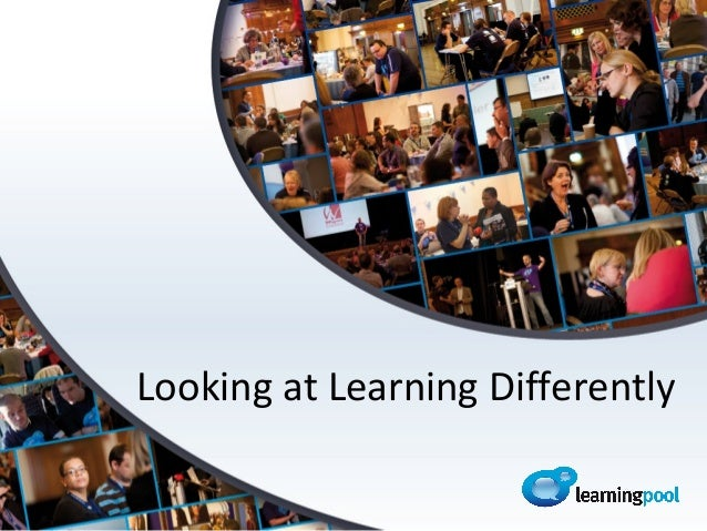 Looking at Learning Differently