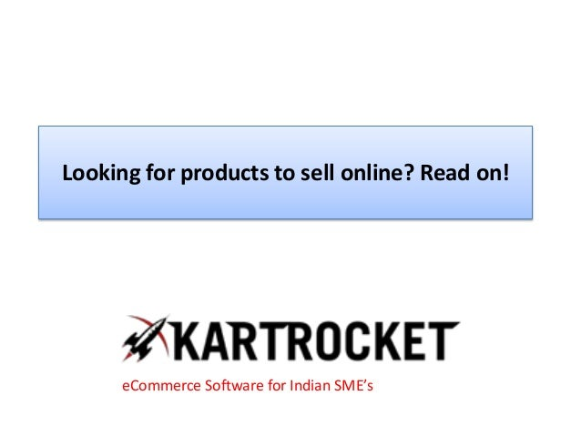 Looking for products to sell online? Read on!