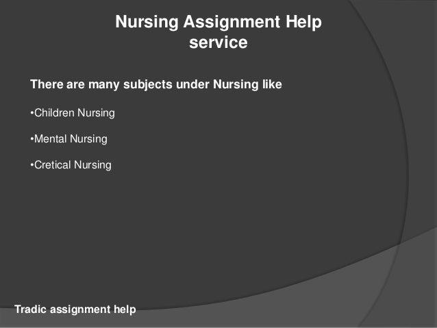 Do my nursing assignment