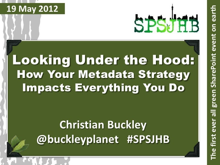 How your Metadata Strategy Impacts Everything You Do
