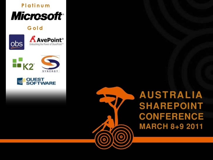 Looking Under the Hood -- Australia SharePoint Conference