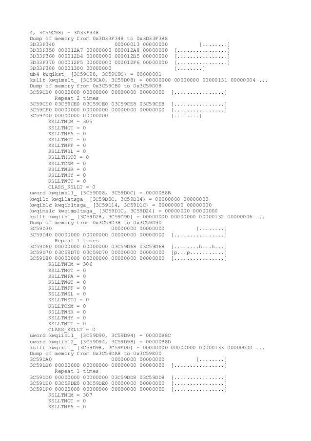 4, 3C59C98) = 3D33F348Dump of memory from 0x3D33F348 to 0x3D33F3883D33F340                    00000013 00000000          [...
