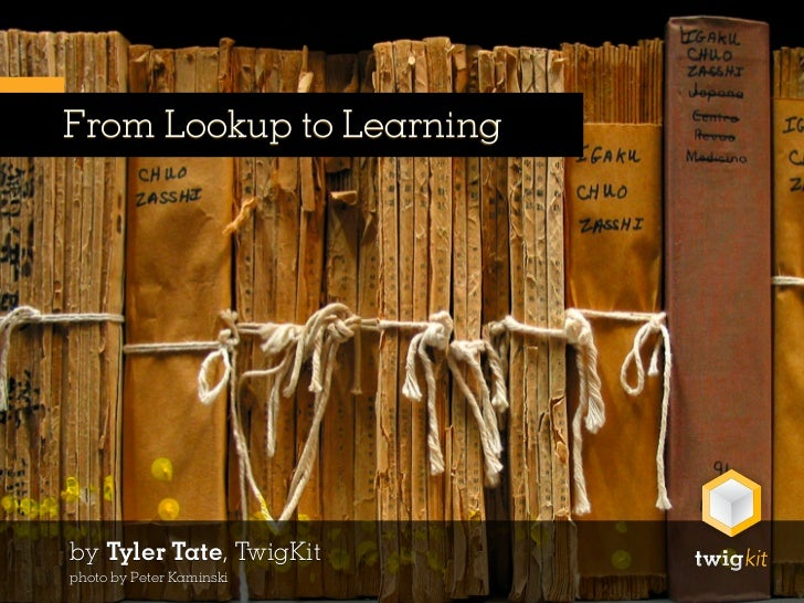 From Lookup to Learning: Search as a Long-term Activity – ECIR 2011