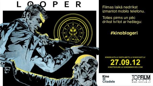 Kinoblogeri piedāvā: Looper (27.09.2012)