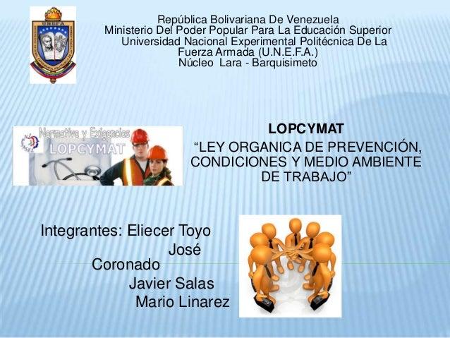 Lopcymat (marco legal)