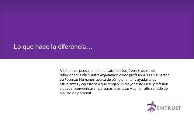 Lo que hace la diferencia…