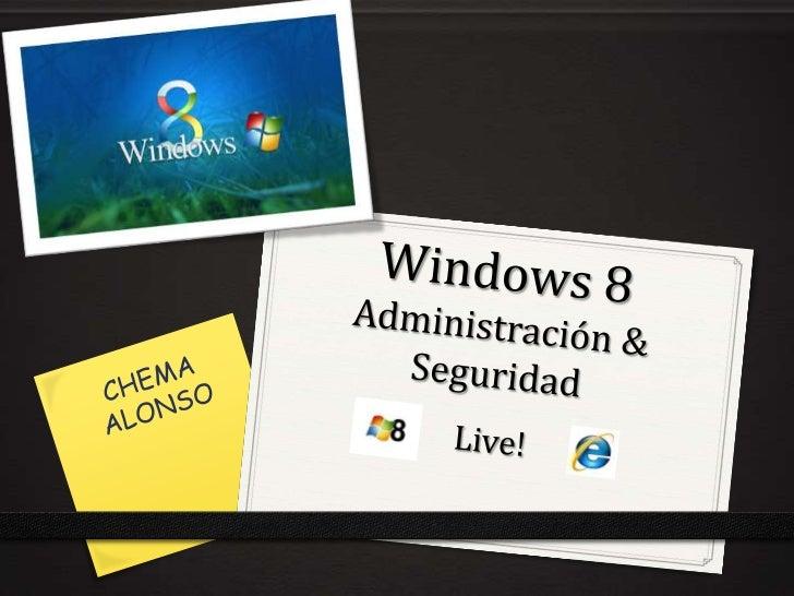 … Perdón pero… va a salir un nuevo Windows                CHEMA ALONSO -                INFORMATICA64