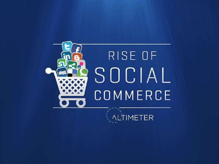 Lora presentation for the rise of social commerce
