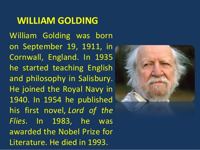 an analysis of good and evil in lord of the flies by william golding Inherent good and evil in lord of the flies the lord of the flies by william golding is tale of a group of young boys who become stranded on a deserted island after their plane crashes.