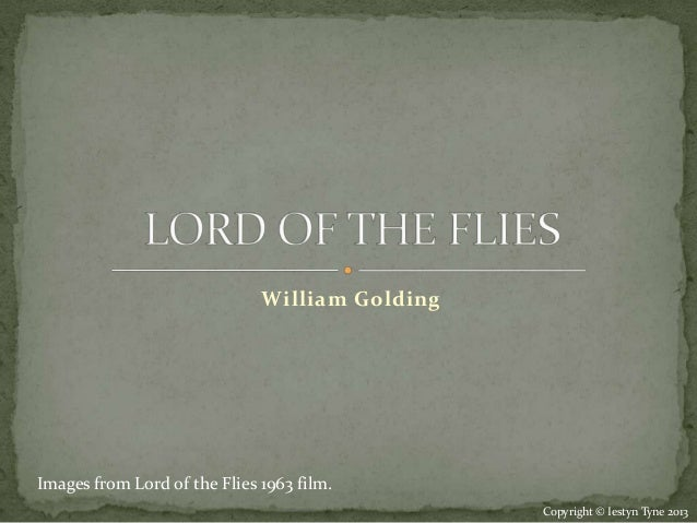 What is a good quote to use to start a Lord of the Flies literary analysis essay?