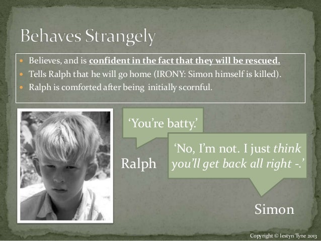 character analysis essay on ralph from lord of the flies Need help on characters in william golding's lord of the flies check out our detailed character descriptions from the creators of sparknotes.