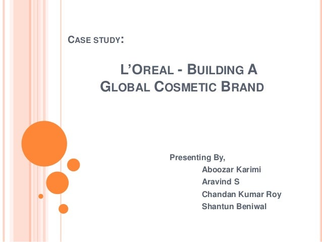 loreal introduction essay Free essay: l'oreal introduction strategy analysis focuses on the long- term objective generating alternative strategies, and selecting strategies to  pursue.