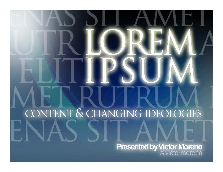 The Debate over Lorem Ipsum
