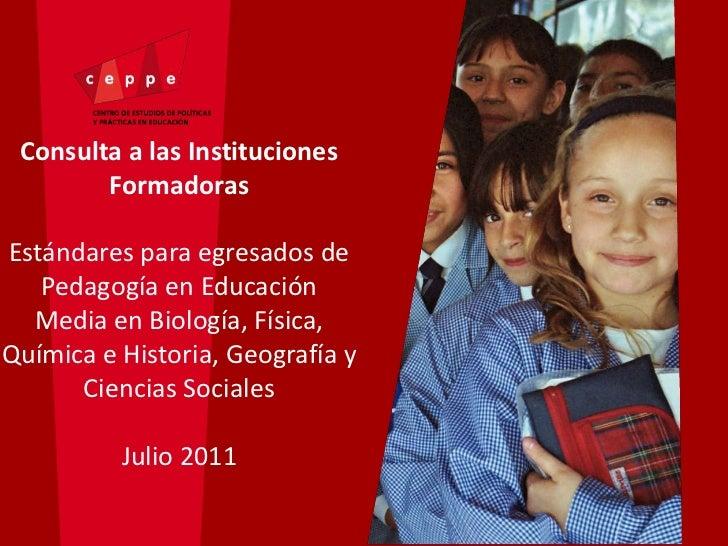 Presentación Jefa Estándares, Lorena Meckes