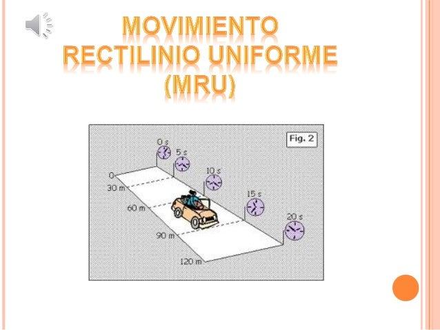Aprender mas sobre el tema y verificar de manera experimental si es un movimiento rectilíneo uniforme (MRU) o un movimient...