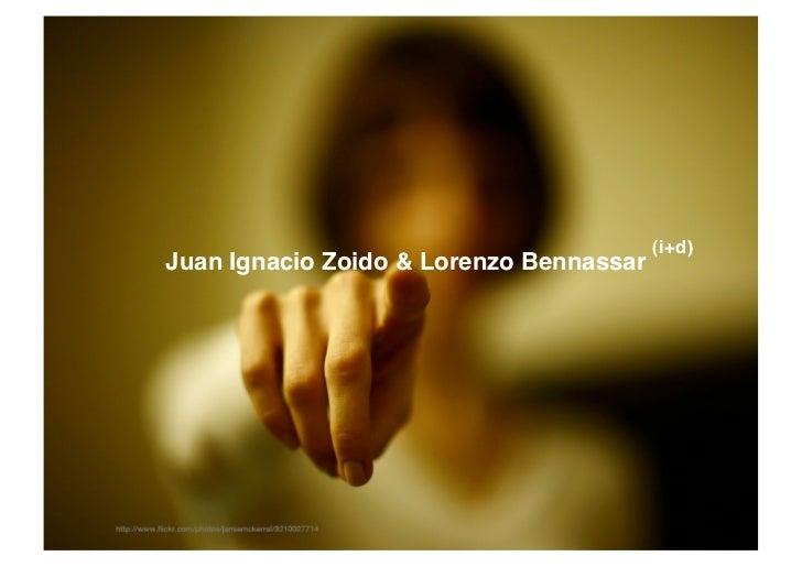 (i+d)Juan Ignacio Zoido & Lorenzo Bennassar