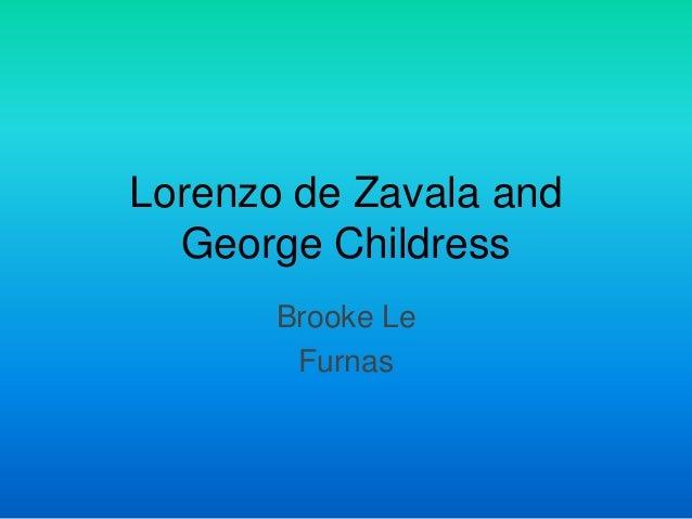 lorenzo de zavala Lorenzo de zavala (vicepresident) photo galleries, news, relationships and more on spokeo.