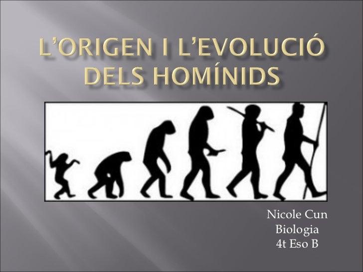 Nicole Cun Biologia 4t Eso B