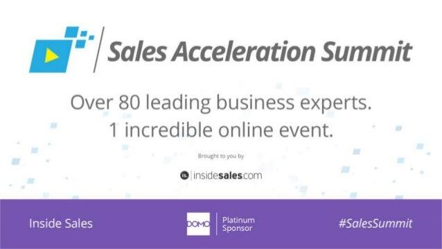 #SalesSummit | @scoremoresales