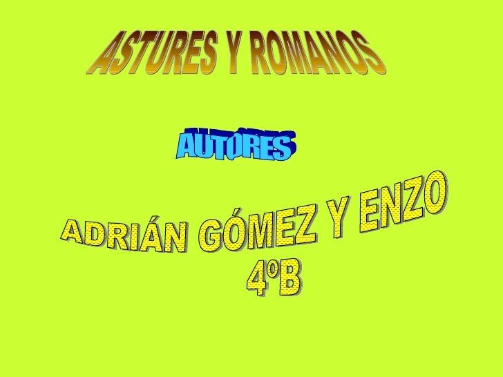 Los astures y los romanos