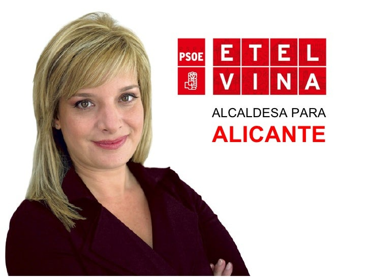 ALCALDESA PARA   ALICANTE