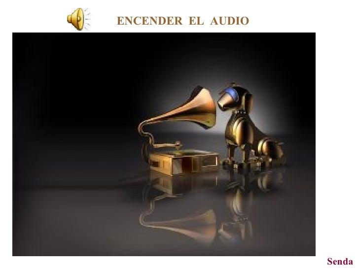 ENCENDER  EL  AUDIO Senda