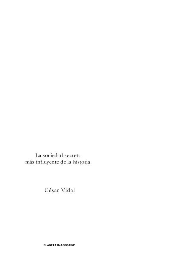 Los Masones- César Vidal