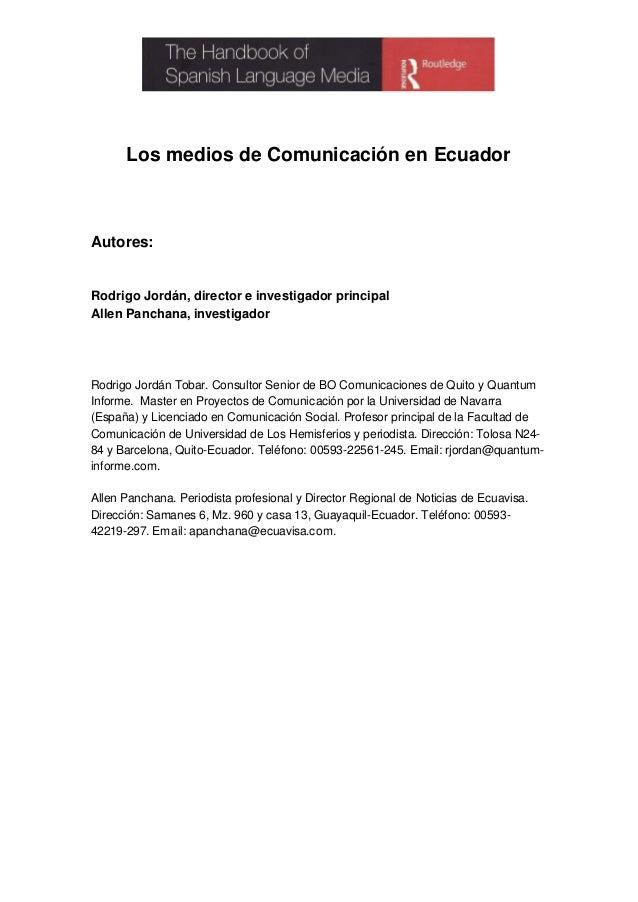 Los mcs-en-ecuador